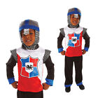 Childs Knight Of The Realm Fancy Dress Costume Kids Medieval Book Week Outfit