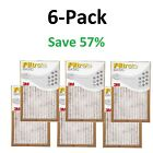 Filtrete-Basic Air-Filter 3M 6 12 Pleated Furnace Replacement Pad Dust Pack Lot