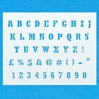 5th Avenue Alphabet Stencil Font Mylar Letter Number Upper Case Painting DIY Art