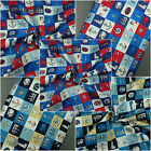 100% Cotton Fabric Nautical Sailboat Anchor Patchwork Print - Superior Quality