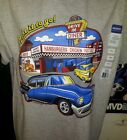 MAKE IT TO GO AL'S DRIVE IN DINER ON A UNISEX/MEN T-SHIRT MUSCLE CAR S HOT ROD