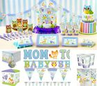 Woodland Baby Shower Party Supplies Decoration Tableware Plates Cups Napkins