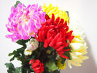 Artificial Simulation Flowers Purple/Green/Red/White Home Decor Brand New 92cm