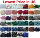 Kyпить Wholesale Lot Natural Gemstone Round Spacer Loose Beads 4mm 6mm 8mm 10mm 12mm на еВаy.соm