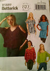 Butterick Pattern 5889 Misses Top Tunic Belt Choose SZ XS-M  4-14 or L-XXL 16-26