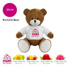 Personalised Name Mothers Day 2019 Richard Teddy Bear Presents Gifts for Mum Nan