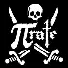 PI RATE (number pirate student college irrational math gift scientist) T-SHIRT