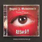 YNGWIE J. MALMSTEEN'S RISING FORCE - ATTACK +1, CD  PCCY-01582 2002 NEW SEALED