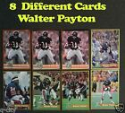 WALTER PAYTON _ 8 Different LEGENDS Cards _ Choose 1 or More _ In a Toploader
