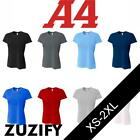 A4 Ladies Short Sleeve Spun Poly Performance T-Shirt. NW3264