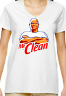 Mr Clean T-Shirt Funny shirt Superbowl commercial white tee