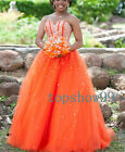 Fashion Beaded Quinceanera Dresses Prom Dress Ball Gowns Formal Wedding Dress