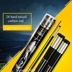 Superhard 28 Carbon Fiber Fishing Rod Flexible Light Telescopic Rods 3.6-7.2m