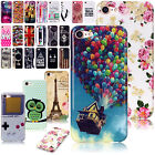 Patterned Rubber Case Ultra Slim Soft TPU Protective Cover For iPhone 6s 7 Plus