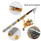 Hard Telescopic Fishing Rods Carbon Spinning Fishing Poles Casting Pole 1.8-3.0m