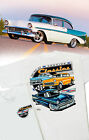 Chevrolet Genuine Classics T-Shirt -1955 1956 1957 Bel-Air 210 150 Delray Gasser
