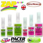 Zap a Gap Glue C A Medium & Thin Quick Setting SuperGlue Cyanoacrylate by Pacer