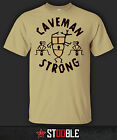 Caveman Strong T-Shirt - Direct from Stockist