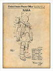 1973 NASA Apollo Space Suit Control Printed matter Art Drawing Announcement 18X24