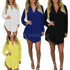 Women's Lady Loose Long Sleeve Casual Blouse Shirt Tops New Fashion Blouse B5L9