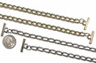 2 mm Gold/Nickel T-BAR Replacement Shoulder Bag Purse Pouch Clutch Chain Strap