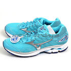 Mizuno Wave Rider 20 D Sky Blue/Silver/White Smooth Ride Running J1GD170603