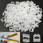 200-800x Clips Tile Leveling System Kit Wall Floor Tile Spacer Tiling Tool 1.0mm