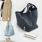 OVER LARGE PICOT BAG ~ [made in KOREA] Genuine Cowskin Leather Womens Handbag