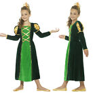 Smiffys Kids Medieval Princess Fancy Dress Costume Girls World Book Day Outfit