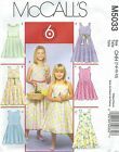 McCall's 5033 Girls' Dresses in Two Lengths   Sewing Pattern