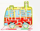 Wooden Magnetic Maze Puzzle Kids Educational Toys Family Games