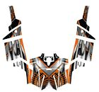RZR 800 graphics kit 2011 2012 2013 2014 Pro Armor Door wraps #7777 Orange