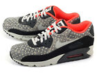 Nike Air Max 90 LTR Premium Black/Granite-Anthracite-Bright Crison 666578-006