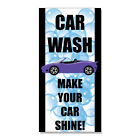 Car Wash Make Your Car Shine  DECAL STICKER Retail Store Sign $9.49 USD on eBay