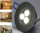 10pcs CREE 3W LED Recessed Ceiling Light Downlight Spot Lamp With 110V Driver US