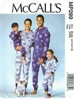 McCall's 7518 Family Unisex Jumpsuit and Dog Coat   Sewing Pattern