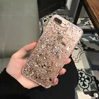 Luxury Bling Fragment Soft Case Fr iPhone 7 Plus Shockproof TPU Back Cover