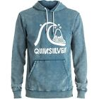Quiksilver Bubble Mens Hoody - Indian Teal All Sizes
