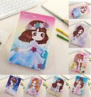 Cartoon Cute Garland Girl PU Leather Stand Cover Case For Apple iPad mini 4 3 2