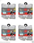 24 Pair Hanes Mens Big & Tall ComfortBlend Ankle Socks BLACK/WHITE - Size 12-14