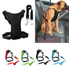 Air Mesh Car Dog Seat Belt Dog Harness&Seat belt Clip Leash for DogTravel S M L