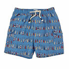 Mud Pie Little Boys Fish Lure Swim Trunks  Size 6M-5T# 1022109