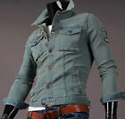 [K-Mall]Mens High quality Fashion casual Button denim jacket J4055 Made in Korea