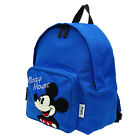 A95.Disney Mickey Mouse Toddler Kid Children Boy Backpack Picnic Field Trip