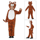 Smiffys Kids Boys Girls Tiger Fancy Dress Costume Childs World Book Day Outfit