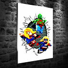 LEGO Hulk Superwoman Ms. Marvel HD Canvas Print Home Decoration Art Painting