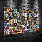 Marvel Characters Oil Painting HD Print Wall Decor Art on Canvas Unframed