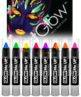 Paint Glow UV Neon Paint Stick - Choose From 8 Colours - Make Up Face Body