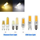 Halogen Lamp Replacement 2W 3W 4W G4 G9 E14 Filament COB LED Dimmable Corn Light