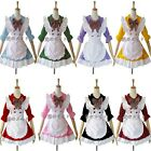 half-sleeve Lolita Princess Cosplay Lolita Maid Outfit Costume Party Dress Apron